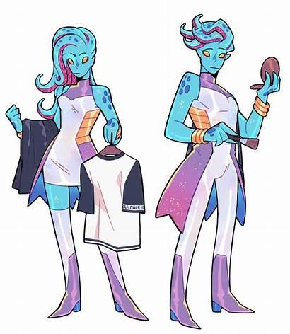 Monster Prom Alien Character Inspiration Concept Fantasy