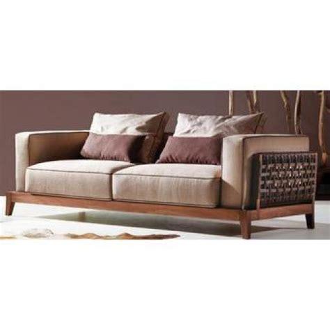 canape en bois et tissu photos canapé bois et tissus