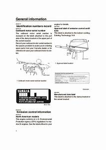 Yamaha Outboard Motor Serial Number