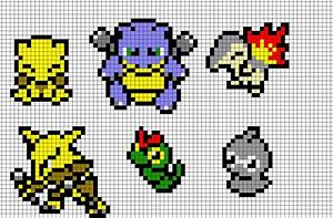 Pokemon Pixel Art