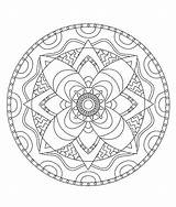 Coloring Pages Tie Dye Adult Mandala Mandalas Mandellas Stones Printable Getcolorings Geometrici Astratti Pix Drawings Patterns Doodle Painted sketch template