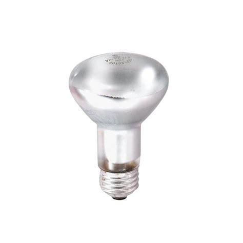 sylvania 45 watt r20 130 volt incandescent inside