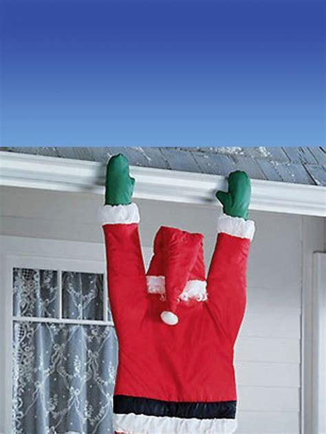 santa hanging  door guttering outdoor decoration