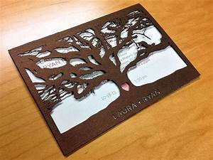 75 best epilog laser printer images on pinterest With cricut tree wedding invitations