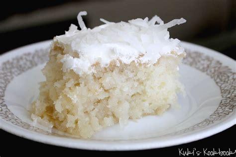 coconut cake white cake mix vegetable oil water eggs