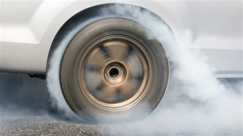 Tire Burnout Stock Footage Video