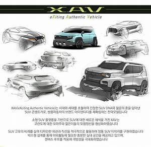 Xav Auto Niort : ssangyong xav concept sketches indian autos blog ~ Gottalentnigeria.com Avis de Voitures