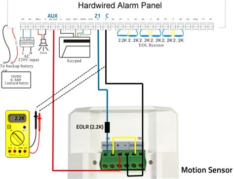 Dsc Alarm Box Wiring Diagram by Pir Motion Sensor Wired Dual Tech Outdoor Motion Sensor