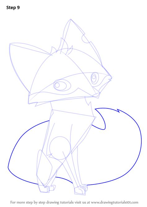learn   draw fox  animal jam animal jam step
