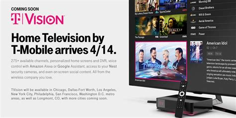 free tv on mobile t mobile enters television market in eight cities with
