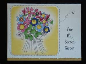 Secret Sister Birthday Clip Art