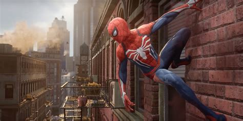 Spiderman Ps4 Game Trailer Peter Parker Meets Insomniac
