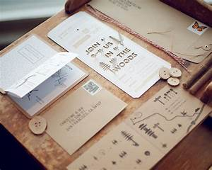 loving wood and grain With modern wood grain wedding invitations