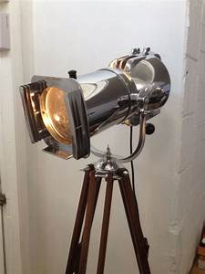 121 best images about wooden tripods on pinterest for Royal marine tripod floor lamp antique brass