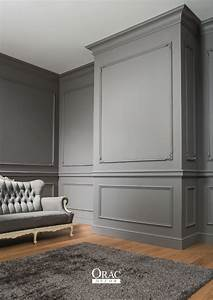 moulure cimaise plinthe le trio gagnant pour votre With peinture murale couleur lin 6 56 idees comment decorer son appartement