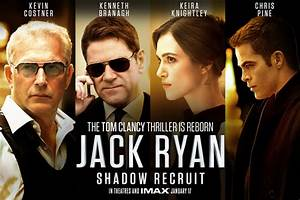 JACK RYAN: SHADOW RECRUIT Clip and Character Posters ...