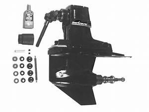 Mercruiser Bravo Three Stern Drive Unit Chart  Gasoline  Parts
