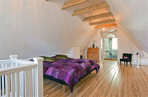 ideas for attic bedrooms attic bedroom with wooden floor ideas interior design ideas