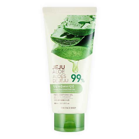 Harga The Shop Jeju Aloe Fresh Soothing Gel review the shop jeju aloe 99 fresh soothing gel