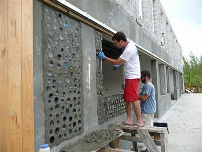 Building Construction Reuse Recycle Bottles Reduce Bottle