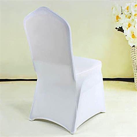 housse extensible pour chaise femor housse de chaise 2 pièce couverture blanc