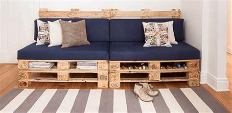 faire un canapé en palette fabriquer canapé en palette déco babymeetstheworld