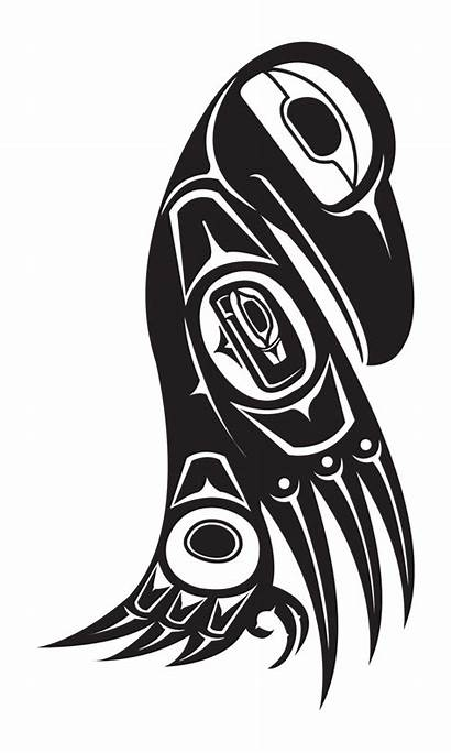 Native Northwest Raven American Deviantart Tlingit Animal