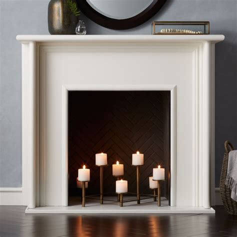 brass fireplace candelabra reviews crate  barrel