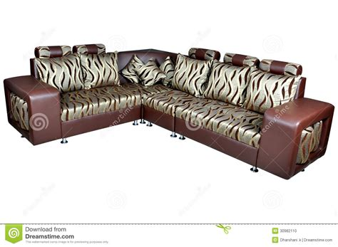 corner sofa stock photo image   home elegance