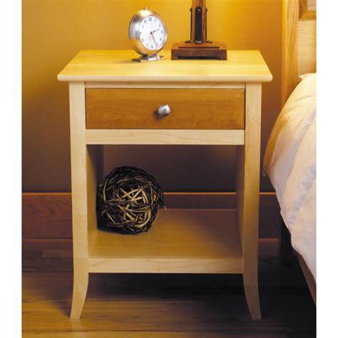 maple cherry nightstand woodworking plan  wood magazine