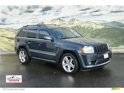 2007 steel blue metallic jeep grand srt8 4x4 60378538 gtcarlot car color galleries