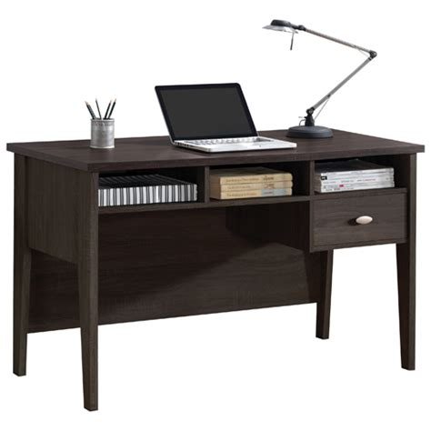 Black Writing Desk Canada by Folio Contemporary 1 Drawer Table Writing Desk Black