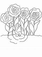Coloring Pointillism Worm Printable Glow Rose Earthworm Peonies Peony Printables Engraçados Bichos Getcolorings Flower Para Colorir Páginas Sheets Colors Earthworms sketch template