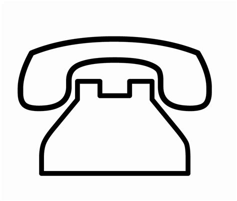 telephone clipart black and white office phone icon clipart panda free clipart images
