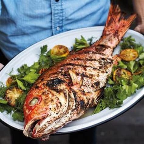 fish grilled whole recipe recipes grill food dish grilling dishes caledonia foods seafood skin healthy meat