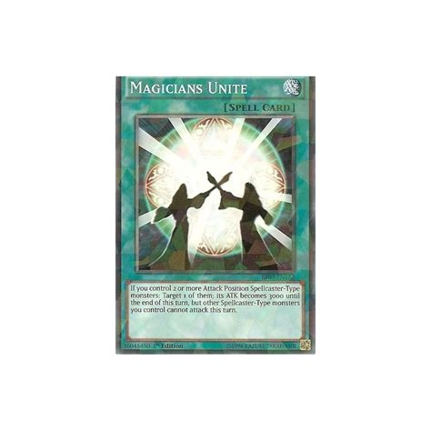 yu gi oh trading card game shatter unite bp03 magicians foil 1st rare edition singles