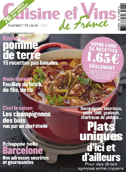 cuisine et vins de cuisine et vins de 148 novembre 2012