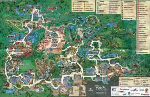 Busch Gardens Tampa Park Map