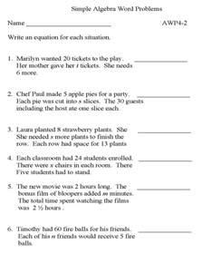 free printable math word problems photoaltan15 algebra word problem worksheets