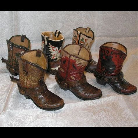 cowboy boot vases   Vow renewal someday?   Pinterest