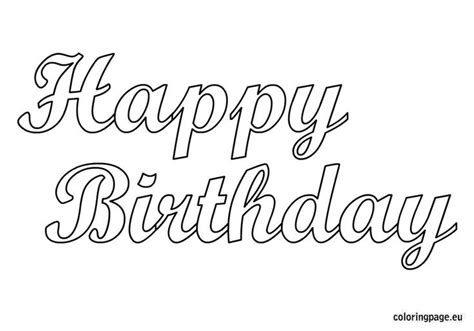 adult cake coloring pages happy birthday  printable