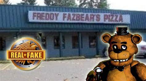 freddy fazbears pizza place real  fake youtube