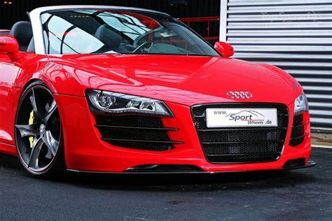 Audi R8 Modification by 2011 Audi R8 V10 Spyder By Sport Wheels Modification