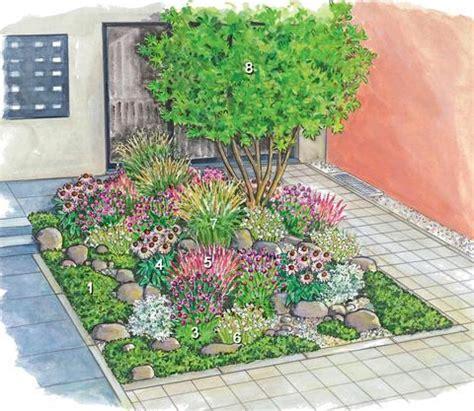 welche pflanzen fuer sonnigen vorgarten