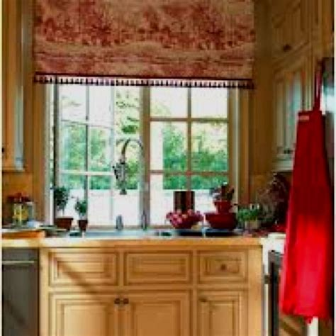 curtain design for kitchen 236 best images about toile on balloon shades 6327