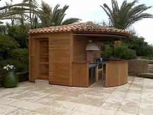 Bar Exterieur De Jardin : pool house kiosques abris d 39 ext rieur menuiserie ~ Dailycaller-alerts.com Idées de Décoration