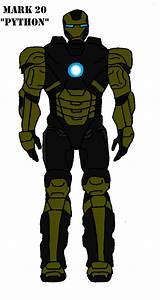 Iron Man Mark 20 Python by bthacker501 on DeviantArt
