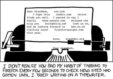 xkcd typewriter
