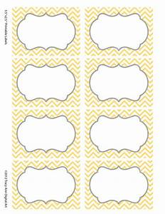 Chevron labels print your own labels yellow and grey for How to print your own labels