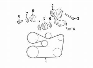 2013 Toyota Serpentine Belt  Routingcrktensaltwpcomp